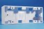 Настенная коробка под лицевую панель 80x204 мм Hyperline