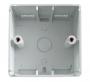 Настенная коробка 80x80x45мм Hyperline