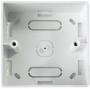 Настенная коробка 86x86x35мм Hyperline