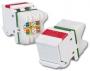 MAX-Модуль UTP, кат.5е, S310, Т568А/В, ярко-белый, угловой, рез. шторка (из уп. 100 шт., без индивидуальной упаковки) Siemon
