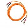 Комплект из двух дуплексных многомодовых эталонных кабелей 50 мкм с коннекторами FC