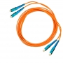 Комплект из трех эталонных многомодовых перемычек для кабелей 50 мкм с коннекторами SC