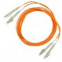 Комплект симплексных эталонных кабелей 50 мкм с коннекторами LC, 1м.
