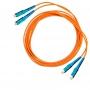 Комплект симплексных эталонных кабелей 50 мкм с коннекторами SC, 1м.