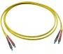 Комплект из двух дуплексных одномодовых эталонных кабелей с коннекторами FC