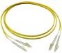 Комплект из трех эталонных одномодовых перемычек для кабелей с коннекторами LC