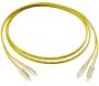 Комплект из трех эталонных одномодовых перемычек для кабелей с коннекторами SC