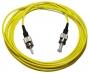 Комплект симплексных эталонных одномодовых кабелей с коннекторами ST, 1м.
