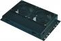 Блок вентиляторов потолочный 2 вентилятора в напольные шкафы глубиной 600, 800 и 1000мм, черный Net-Link