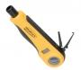 Инструмент NIKOMAX для заделки витой пары, ударного типа, 2 уровня регулировки силы удара, крепление Twist-Lock, нож для кроссов типа 110 в комплекте