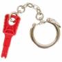 Ключ для коммутационных шнуров с замком, красный
