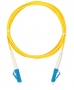 Шнур NIKOMAX волоконно-оптический, соединительный, одномодовый 9/125мкм, стандарта OS2, LC/UPC-LC/UPC, одинарный, PVC нг(B), 2мм, желтый, 10м