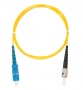 Шнур NIKOMAX волоконно-оптический, переходной, одномодовый 9/125мкм, стандарта OS2, SC/APC-LC/APC, двойной, PVC нг(B), 2мм, желтый, 3м