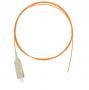Шнур NIKOMAX волоконно-оптический, монтажный, многомодовый 50/125мкм, стандарта OM2, SC/UPC, PVC нг(B), 0.9мм, оранжевый, 1м, уп-ка 2шт.