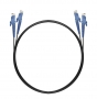 Шнур оптический dpc E2000/UPC-E2000/UPC 50/125 3.0мм 10м черный LSZH (патч-корд)