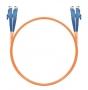 Шнур оптический dpc E2000/UPC-E2000/UPC 50/125 3.0мм 15м LSZH (патч-корд)