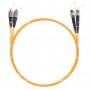 Шнур оптический dpc FC/UPC-ST/UPC 50/125 3.0мм 1м LSZH (патч-корд)