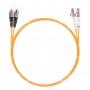 Шнур оптическийdpc LC/UPC-FC/UPC50/125 3.0мм 3м LSZH (патч-корд)