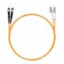 Шнур оптическийdpc LC/UPC-ST/UPC50/125 3.0мм 10м LSZH (патч-корд)