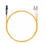Шнур оптический dpc MTRJ/female-LC/UPC50/125 2.0мм 1м LSZH (патч-корд)