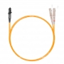 Шнур оптический dpc MTRJ/male-SC/UPC50/125 2.0мм 2м LSZH (патч-корд)