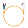 Шнур оптическийdpc MU/UPC-LC/UPC50/125 2.0мм 2м LSZH (патч-корд)