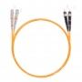 Шнур оптический dpc SC/UPC-ST/UPC 50/125 3.0мм 1м LSZH (патч-корд)