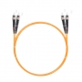Шнур оптический dpc ST/UPC-ST/UPC 50/125 3.0мм 10м LSZH (патч-корд)