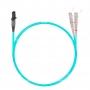 Шнур оптический dpc MTRJ/female-SC/UPC50/125 OM3 2.0мм 20м LSZH (патч-корд)
