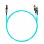 Шнур оптический dpc MTRJ/male-FC/UPC50/125 OM3 2.0мм 15м LSZH (патч-корд)
