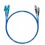 Шнур оптический dpc E2000/UPC-FC/UPC50/125 OM4 3.0мм 1м LSZH (патч-корд)