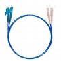 Шнур оптический dpc E2000/UPC-SC/UPC50/125 OM4 3.0мм 1м LSZH (патч-корд)