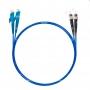 Шнур оптический dpc E2000/UPC-ST/UPC50/125 OM4 3.0мм 1м LSZH (патч-корд)