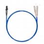 Шнур оптический dpc MTRJ/female-SC/UPC50/125 OM4 2.0мм 15м LSZH (патч-корд)