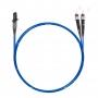 Шнур оптический dpc MTRJ/female-ST/UPC50/125 OM4 2.0мм 15м LSZH (патч-корд)