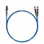 Шнур оптический dpc MTRJ/male-ST/UPC50/125 OM4 2.0мм 15м LSZH (патч-корд)
