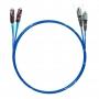 Шнур оптический dpc MU/UPC-FC/UPC50/125 OM4 2.0мм 15м LSZH (патч-корд)