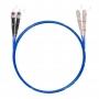 Шнур оптический dpc SC/UPC-ST/UPC 50/125 OM4 3.0мм 10м LSZH (патч-корд)