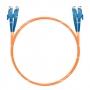 Шнур оптический dpc E2000/UPC-E2000/UPC 62.5/125 3.0мм 1м LSZH (патч-корд)
