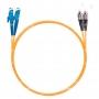 Шнур оптический dpc E2000/UPC-FC/UPC62.5/125 3.0мм 1м LSZH (патч-корд)