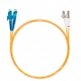 Шнур оптический dpc E2000/UPC-LC/UPC62.5/125 3.0мм 1м LSZH (патч-корд)