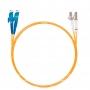 Шнур оптический dpc E2000/UPC-LC/UPC62.5/125 3.0мм 2м LSZH (патч-корд)