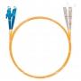 Шнур оптический dpc E2000/UPC-SC/UPC62.5/125 3.0мм 1м LSZH (патч-корд)