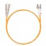 Шнур оптическийdpc LC/UPC-SC/UPC62.5/125 3.0мм 3м LSZH (патч-корд)