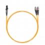 Шнур оптический dpc MTRJ/female-FC/UPC62.5/125 2.0мм 2м LSZH (патч-корд)