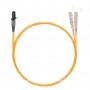 Шнур оптический dpc MTRJ/female-SC/UPC62.5/125 2.0мм 1м LSZH (патч-корд)