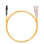 Шнур оптический dpc MTRJ/female-SC/UPC62.5/125 2.0мм 5м LSZH (патч-корд)