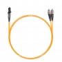 Шнур оптический dpc MTRJ/male-FC/UPC62.5/125 2.0мм 1м LSZH (патч-корд)