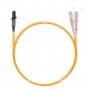 Шнур оптический dpc MTRJ/male-SC/UPC62.5/125 2.0мм 2м LSZH (патч-корд)