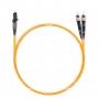 Шнур оптический dpc MTRJ/male-ST/UPC62.5/125 2.0мм 1м LSZH (патч-корд)